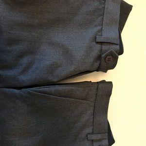 Grey school uniform pants for boys.
